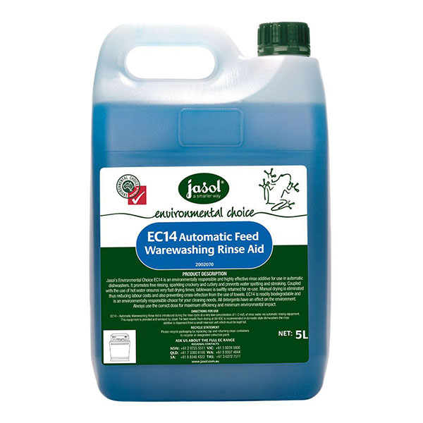 Jasol Enviro Auto Warewash Rinse Aid
