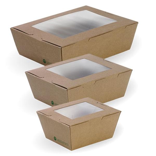 Bioboard Lunch Box with Window