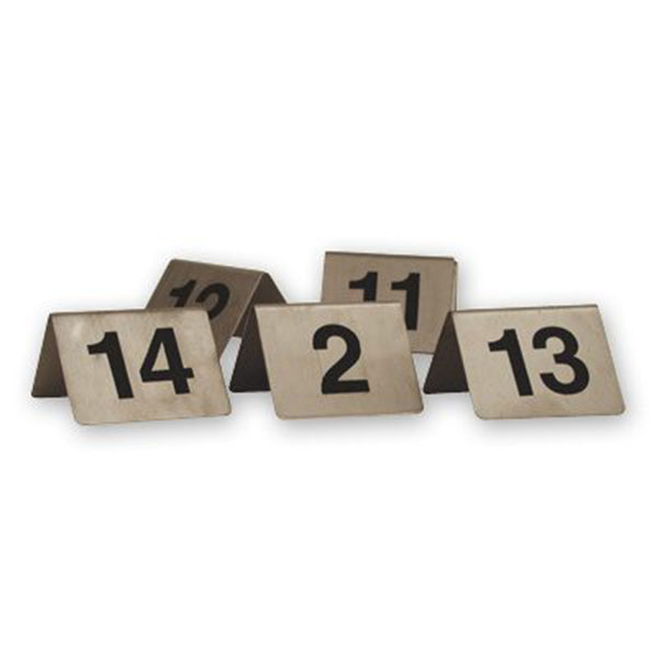A Frame Table Numbers