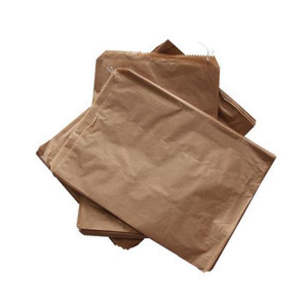 Flat Brown Bags