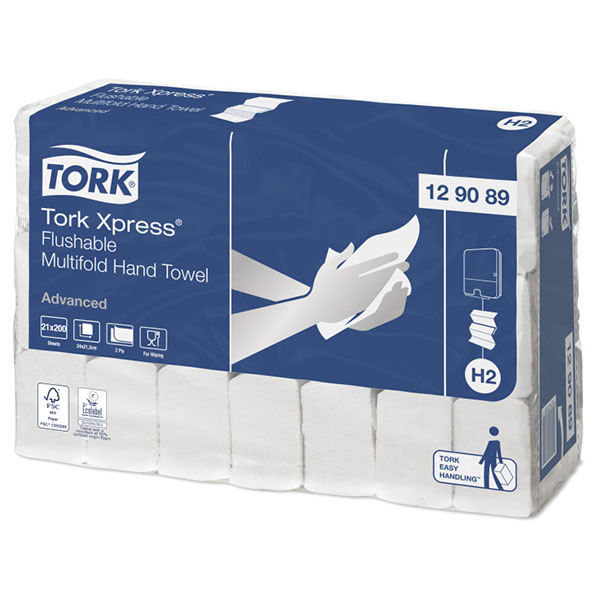 Tork Xpress Flushable Multifold Hand Towel