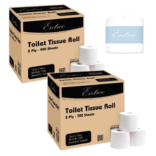 Entice Toilet Tissue Roll