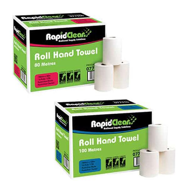 Rapid Clean Roll Hand Towel
