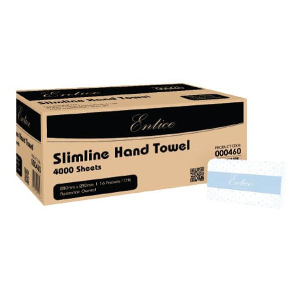 Entice Slimline Hand Towel